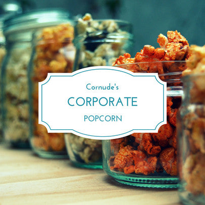 Order gourmet popcorn for corporate events, gifting and tokens