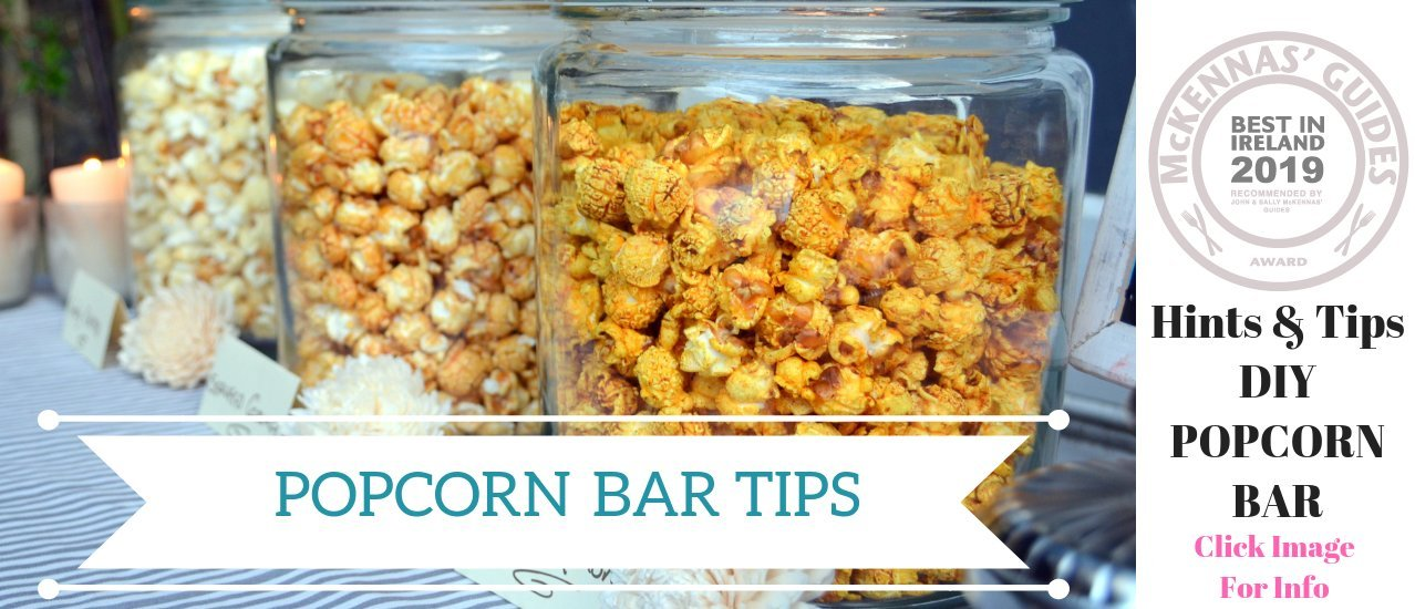 Cornude Popcorn Bar Hints & Tips