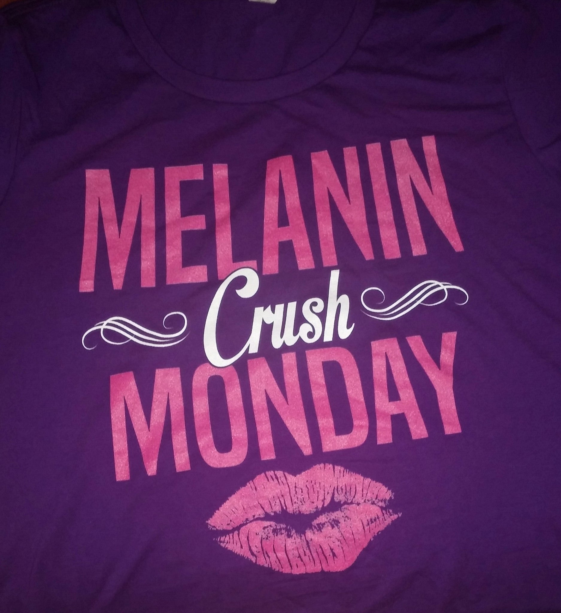 Melanin Crush Monday Tshirt - La Bella Milan Virgin Hair