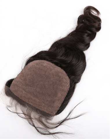 Twist Wave Silk Base Closure - La Bella Milan Virgin Hair