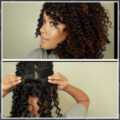 Deep Wave Clip Ins (120 grams) - La Bella Milan Virgin Hair