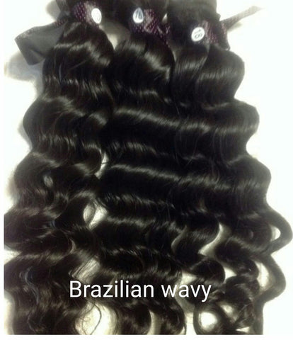 Brazilian Wavy Wefted Hair - La Bella Milan Virgin Hair  - 1