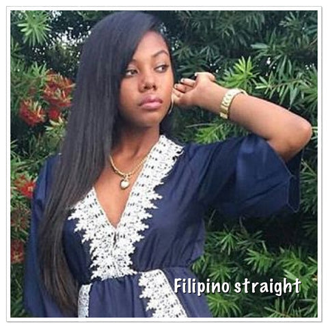 Filipino Straight Wefted Hair - La Bella Milan Virgin Hair  - 1