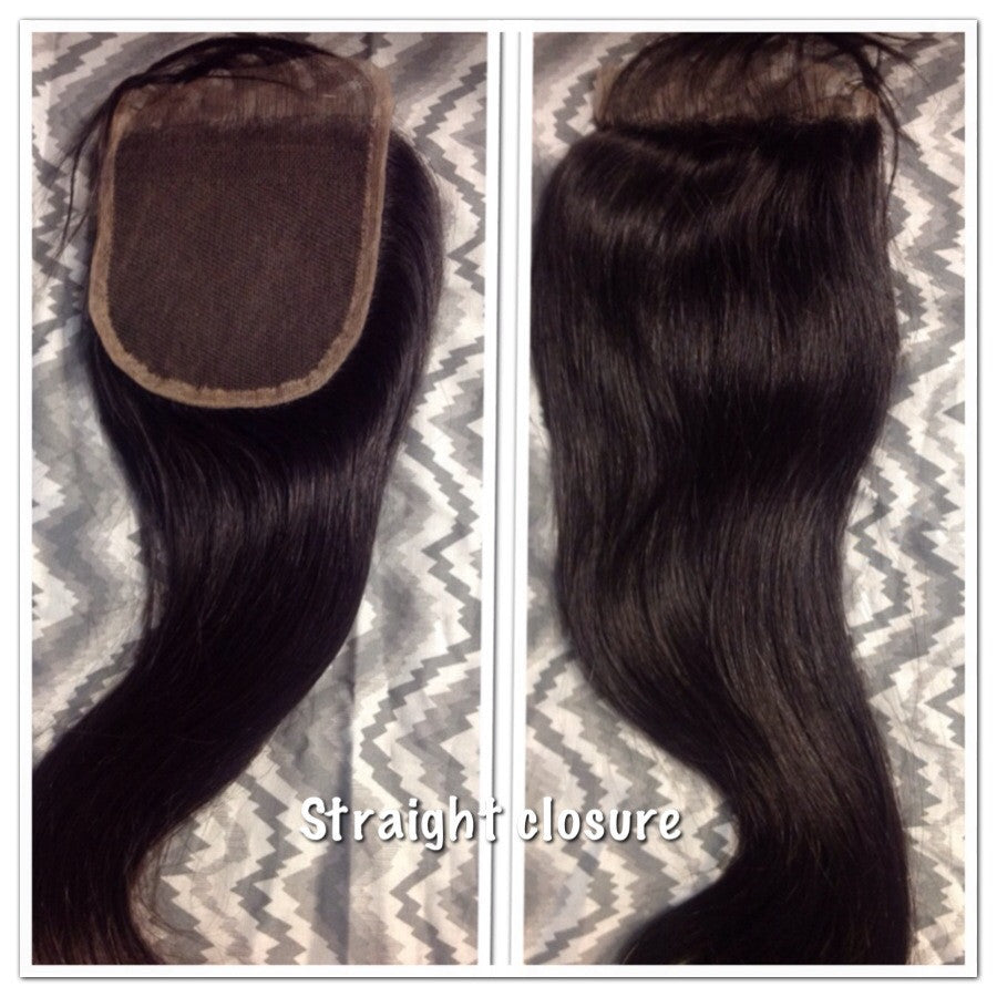 Straight Lace Closures - La Bella Milan Virgin Hair