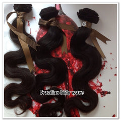 Brazilian Body Wave Wefted Hair - La Bella Milan Virgin Hair  - 1
