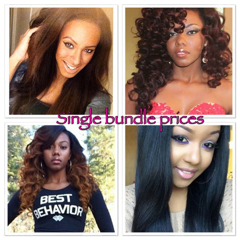 Single Bundle Prices - La Bella Milan Virgin Hair  - 1