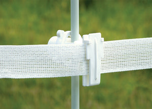 Patriot | Rod Post Wide Tape Insulator (White)