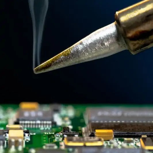 Hot Soldering Iron Tip for HOW TO SOLDER Blog Post