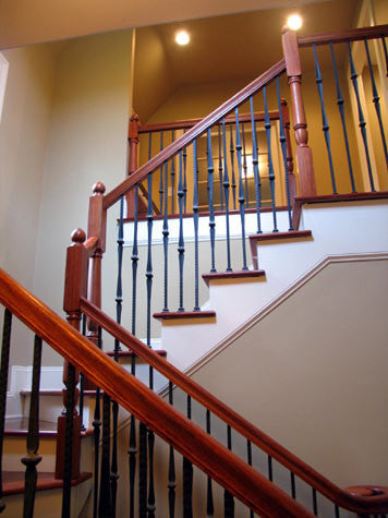 Create an Interesting and Dynamic Staircase with Wrought Iron Balusters