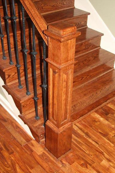 Creating Your Staircase – Choosing the Newel Posts