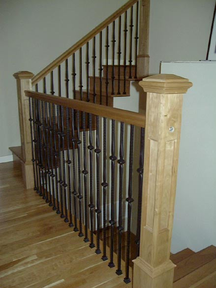 How to Blend Your Stair Parts With Your Hardwood Flooring