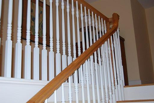 The Beauty in Wood Balusters