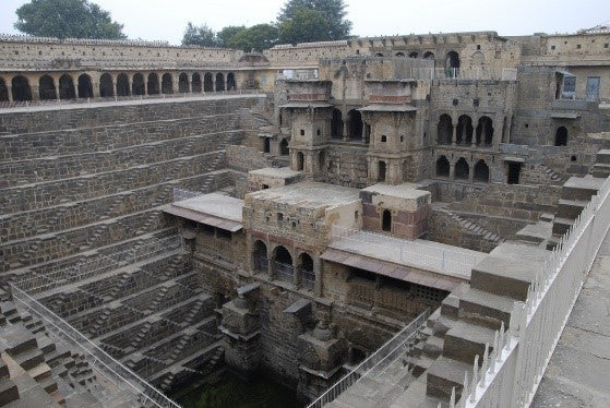 The most famous stair structures in the world – the stepwells of India