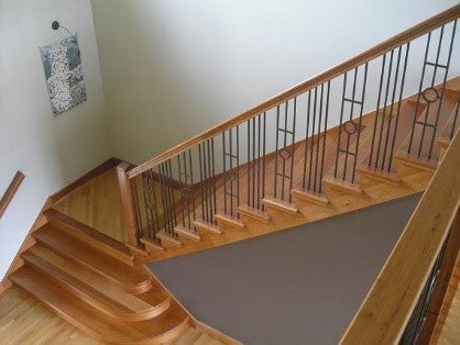 Widen your landings for more luxurious stairs
