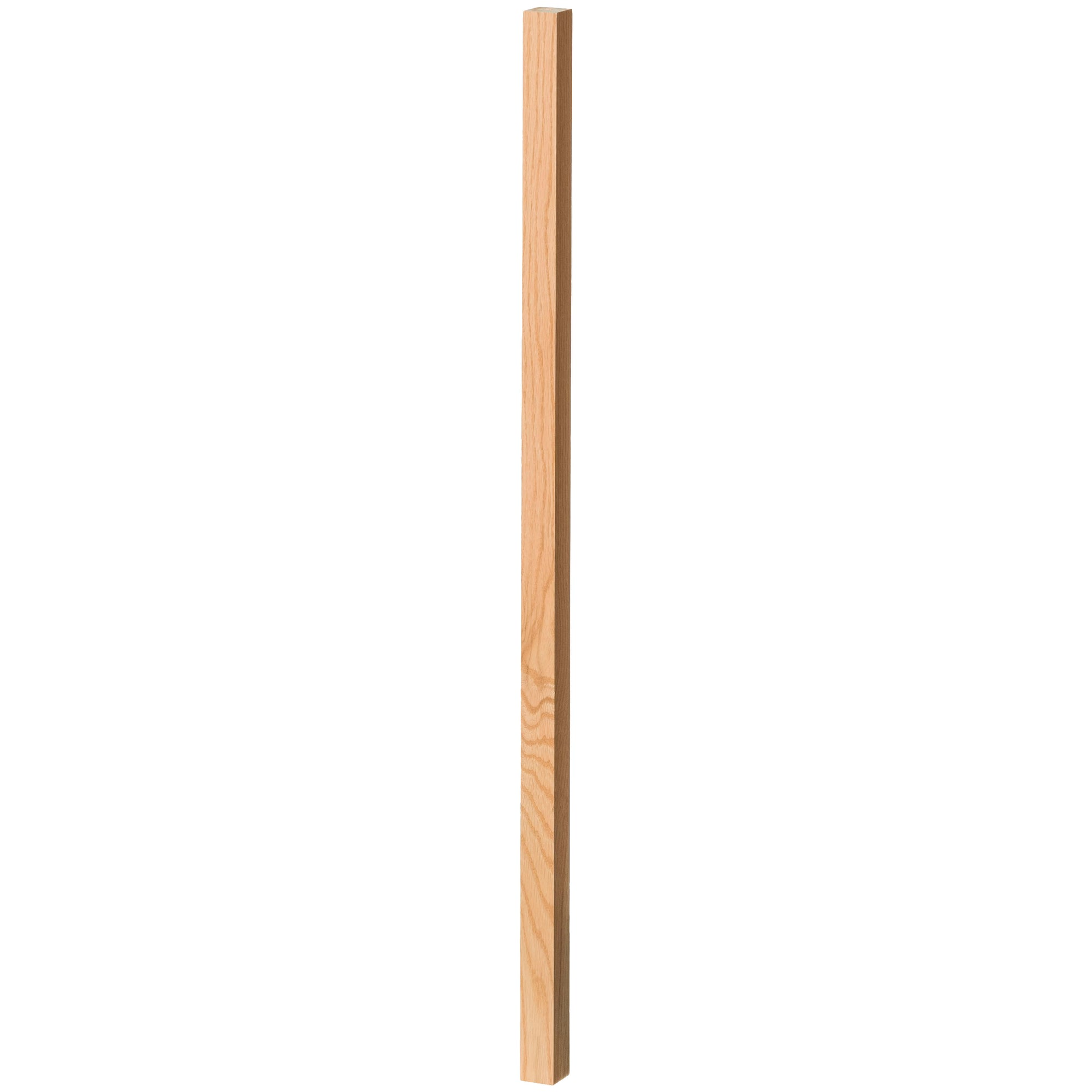 "Contemporary 1-1/4"" 5060 Plain Square Top Baluster"