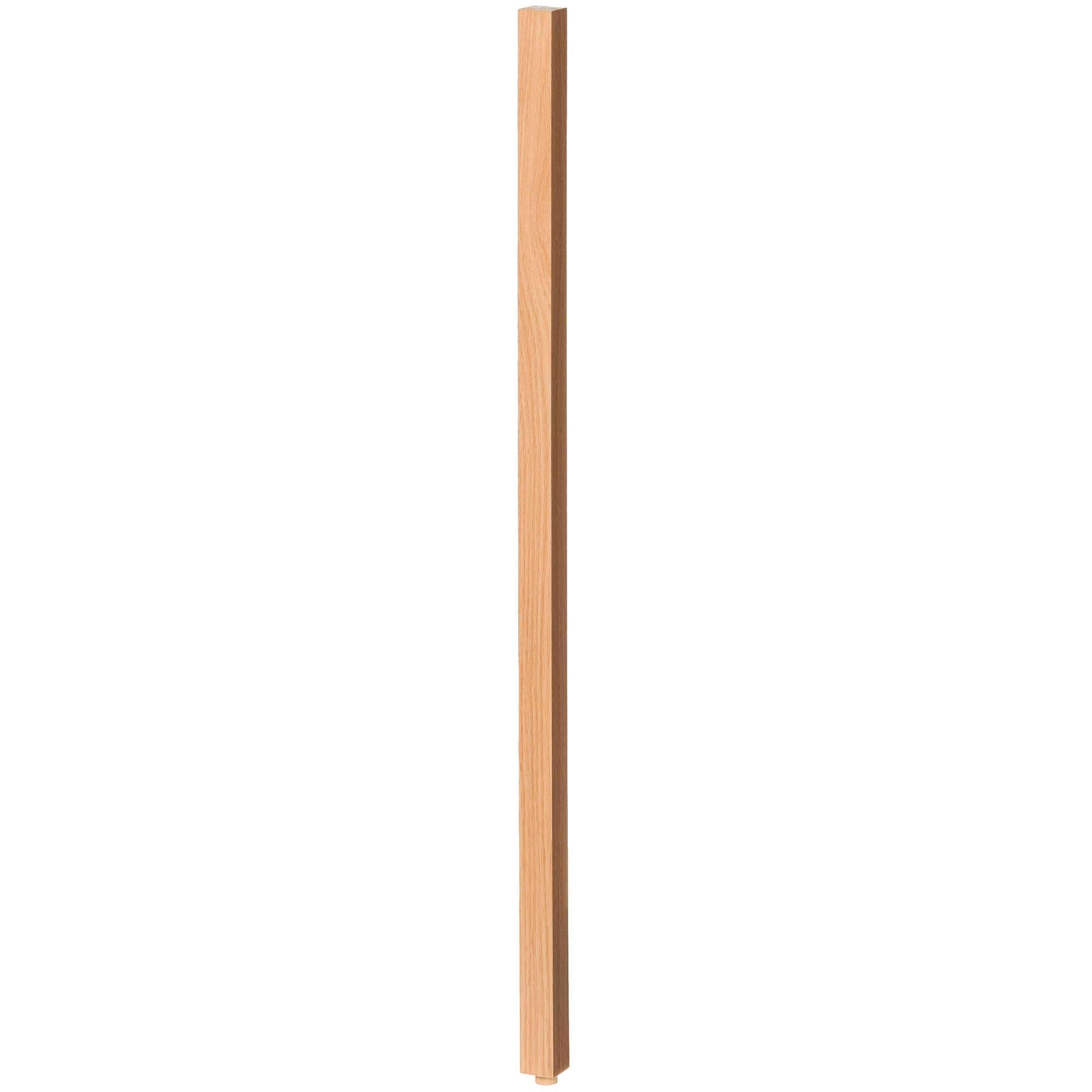 "Contemporary 1-1/4"" 5061 Plain Square Top Baluster w/Dowel"