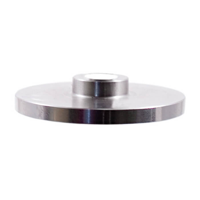 "Stainless Steel End Cap for Floating Steps and 1-2/3"" Round Stainless Steel Tube (ES32020)"