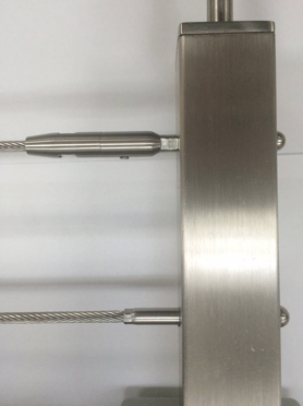 "Stainless Steel Crimpless Terminal 2-3/4"" (ETSM3000)"