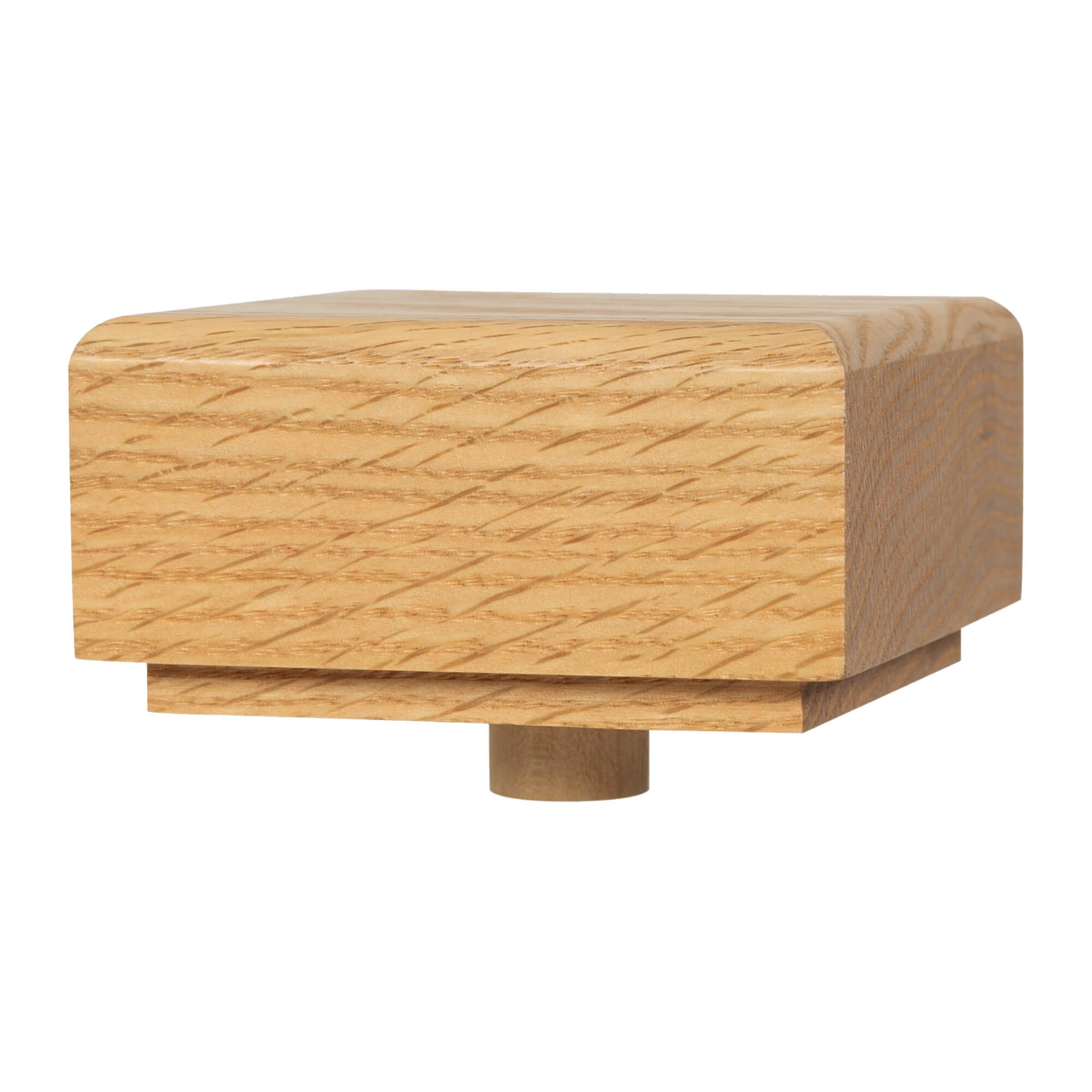 "Square Newel Cap w/Dowel for Contemporary 3"" (4001) and 3-1/2"" (4003) Square Newels (430, 432)"