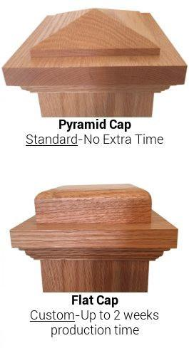 "American 7-1/2"" X 55"" 4092 Plain Box Newel - Stair Parts USA - 3"