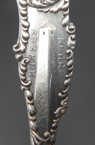 Franc M. Whiting & Co Souvenir Sterling Silver Spoon Collectors Travel Boston