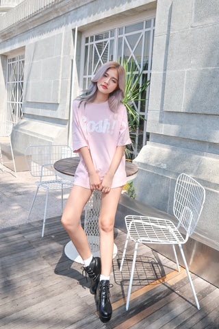 ADEL OVERSIZED GOSH TEE IN PINK