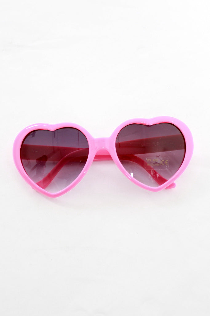 PLASTIC HEART SUNNIES IN PINK