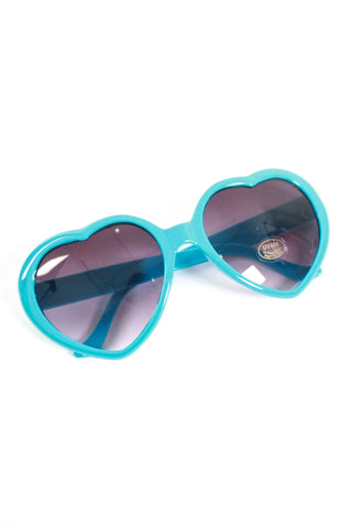 PLASTIC HEART SUNNIES IN BLUE