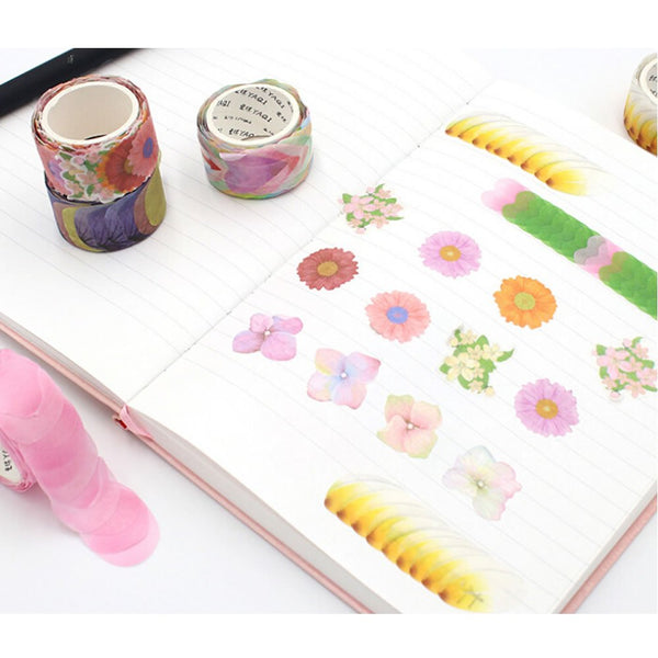 Flower Petal Stickers