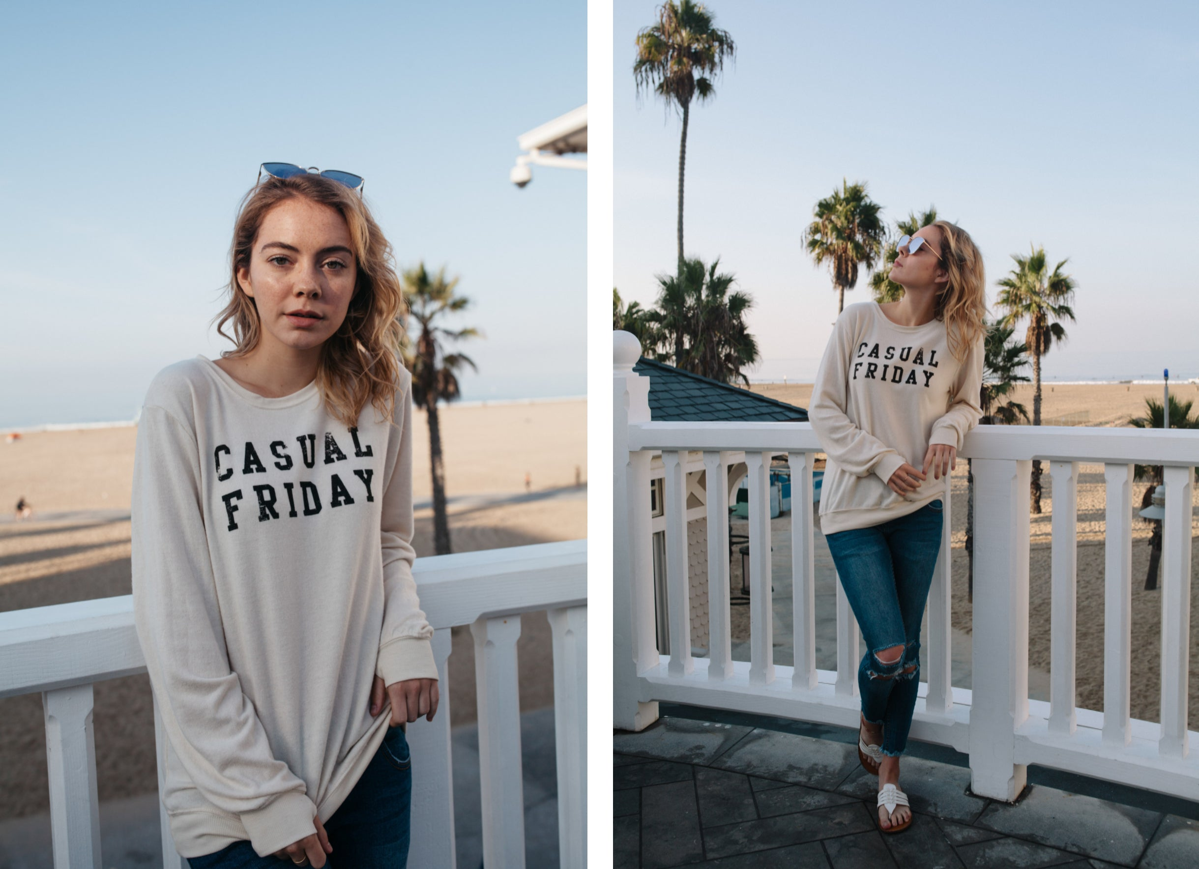social sunday casual friday pullover