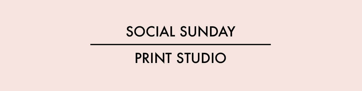 social sunday custom orders print studio