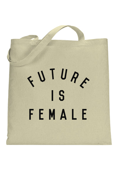 future is female tote bag