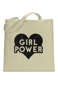 social sunday girl power tote bag