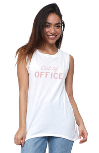 Out Of The Office Muscle Tee