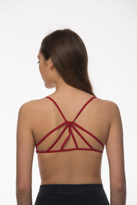 Seams Lovely Sunburst Bralette, Double Layer Lining