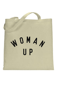 SOCIAL SUNDAY WOMAN UP TOTE BAG