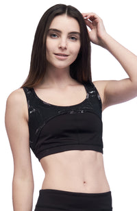 Seams Lovely Cobra Sports Bra – Marble