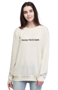 Away Message Pullover