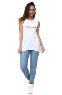 Away Message Muscle Tee