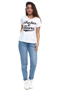 social sunday babes & beers short sleeve tee