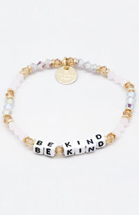 Little Words Project Beaded Bracelet - Girl Power