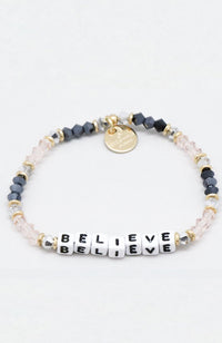 Little Words Project Beaded Bracelet - Breathe