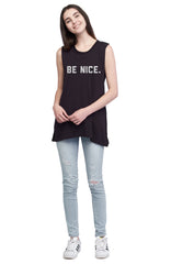social sunday be nice one love foundation muscle tee
