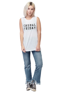 social sunday casual friday muscle tee