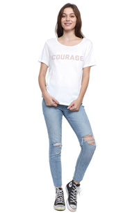 Courage Short Sleeve Tee