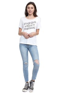 don't quit your daydream social sunday short sleeve tee