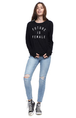 future is female pullover