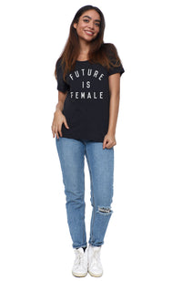 future is female short sleeve tee shirt