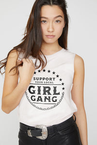 Girl Gang Short Sleeve Tee