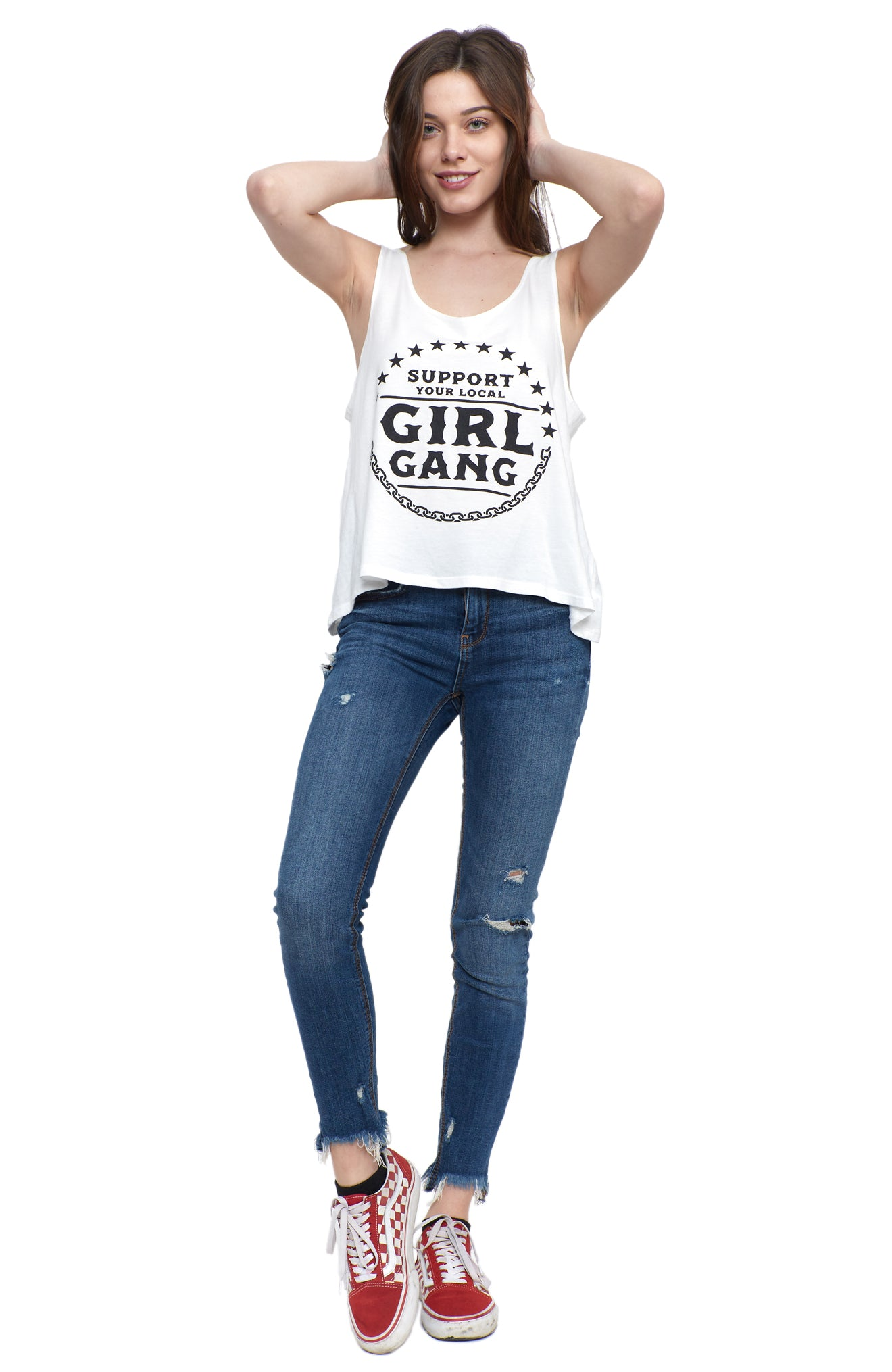 Girl Gang Scoop Tank
